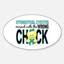 Interstitial Cystitis MessedWithWro Decal