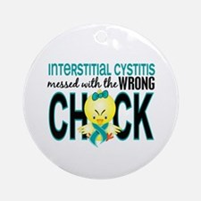 Interstitial Cystitis MessedWithW Ornament (Round)