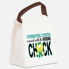 Interstitial Cystitis MessedWithW Canvas Lunch Bag