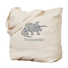 Triceratops Dinosaur Tote Bag