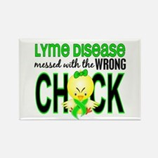 Lyme Disease MessedWithWrongChick Rectangle Magnet