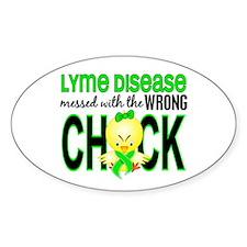 Lyme Disease MessedWithWrongC Decal