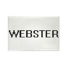 Webster digital retro design Magnets