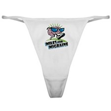 MILES FOR MIGRAINE Classic Thong