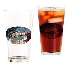 Mustangs Drinking Glass