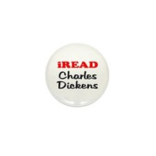 iREAD Charles Dickens Mini Button (10 pack)