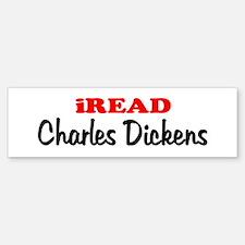 iREAD Charles Dickens Bumper Bumper Bumper Sticker