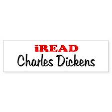 iREAD Charles Dickens Bumper Bumper Sticker
