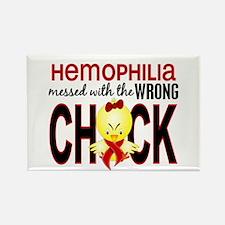 Hemophilia MessedWithWrongChick1 Rectangle Magnet