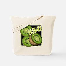 Kiwi Fruit Illustration Tote Bag