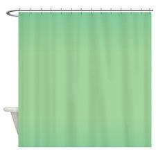 Greentones Shower Curtain