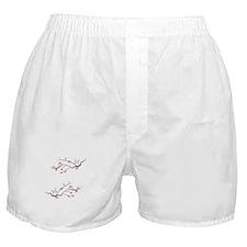 Japanese Cherry Blossoms Boxer Shorts