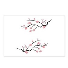 Japanese Cherry Blossoms Postcards (Package of 8)