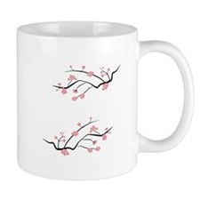 Japanese Cherry Blossoms Mugs