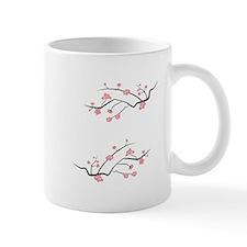 Japanese Cherry Blossoms Mugs