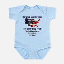 2nd Amendment Infant Bodysuit