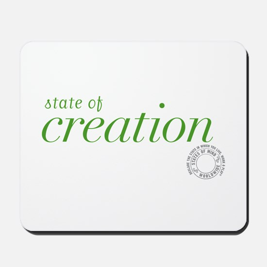 State Of Creation Mousepad