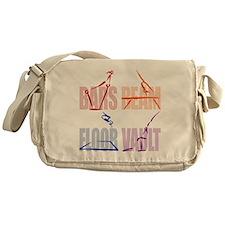 Womens Gymnastics Messenger Bag