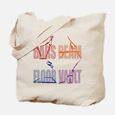 Womens Gymnastics Tote Bag