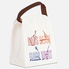 Womens Gymnastics Canvas Lunch Bag