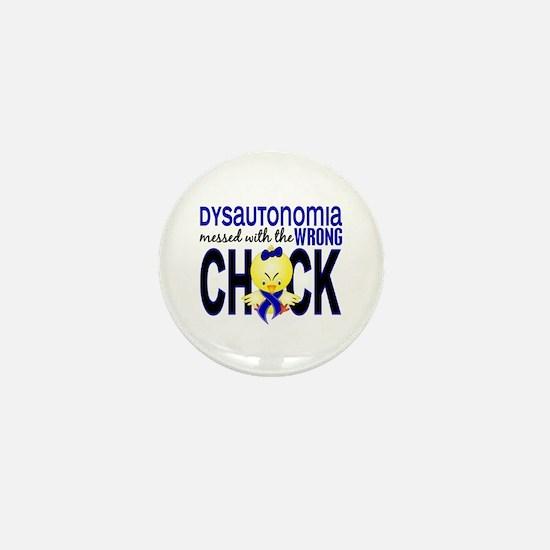 Dysautonomia MessedWithWrongChick1 Mini Button