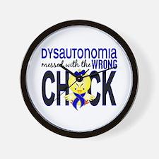 Dysautonomia MessedWithWrongChick1 Wall Clock