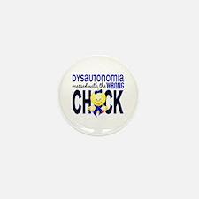 Dysautonomia MessedWithWrong Mini Button (10 pack)