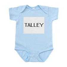 Talley digital retro design Body Suit