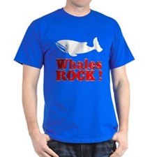 Whales Rock ! T-Shirt