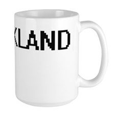 Strickland digital retro design Mugs