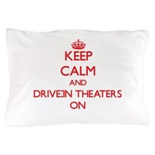 Drive-In Theaters Pillow Case