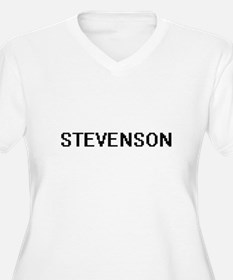 Stevenson digital retro design Plus Size T-Shirt