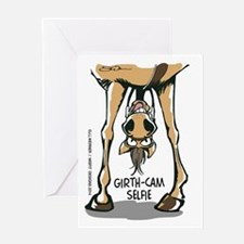 Girth Cam Selfie Greeting Cards