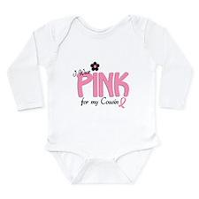 Unique Breast cancer Long Sleeve Infant Bodysuit