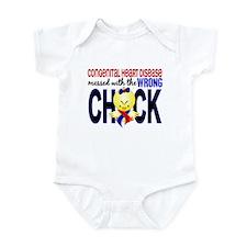 Congenital Heart Disease MessedWit Infant Bodysuit