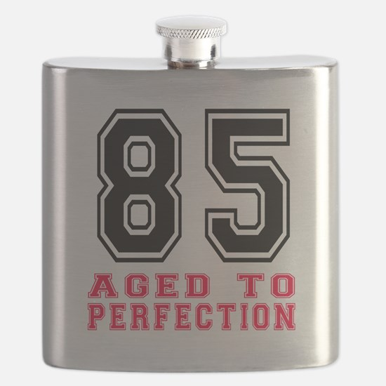 85 Aged To Perfection Birthday Designs Flask