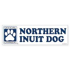 NORTHERN INUIT DOG Bumper Bumper Sticker