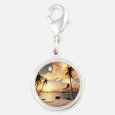 Tropical Beach Charms