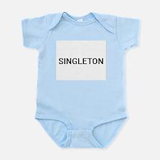 Singleton digital retro design Body Suit