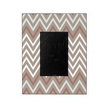 Masculine Chevron Stripes Picture Frame