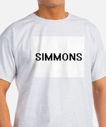 Simmons digital retro design T-Shirt