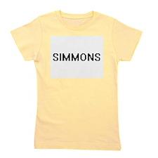 Simmons digital retro design Girl's Tee