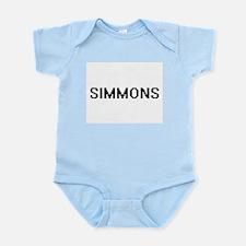 Simmons digital retro design Body Suit