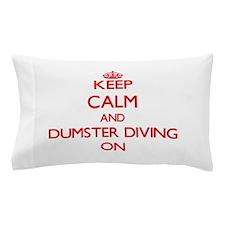 Dumster Diving Pillow Case