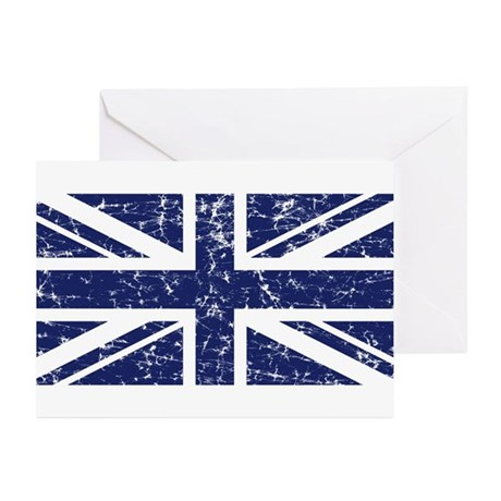 """Navy Union Jack"" Greeting Cards (Pk of 20)"