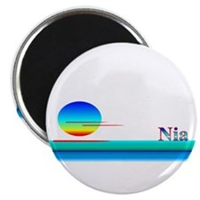 "Nia 2.25"" Magnet (100 pack)"