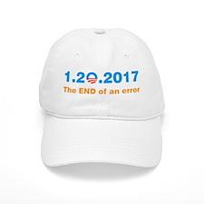 Anti Obama The end of an error Baseball Baseball Cap