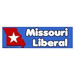 Missouri Liberal Bumper Sticker