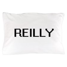 Reilly digital retro design Pillow Case