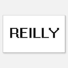Reilly digital retro design Decal